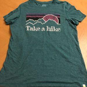 Life Is Good Take A Hike Tee